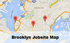 brooklyn jobsite map