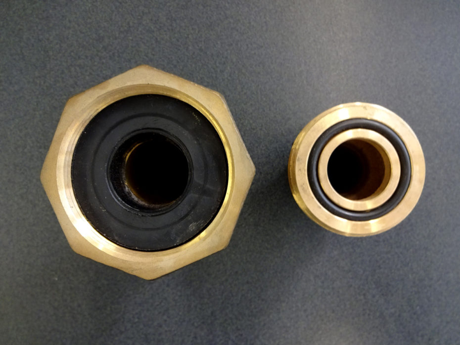 specialty brass fitting