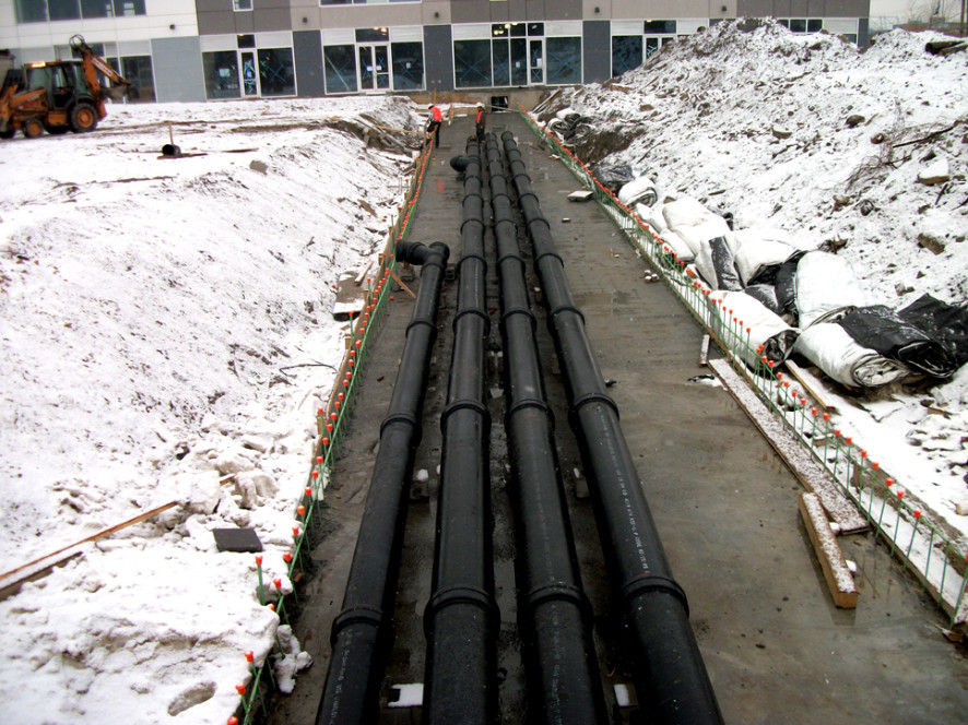 sewer drain system