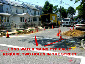 queens village water main