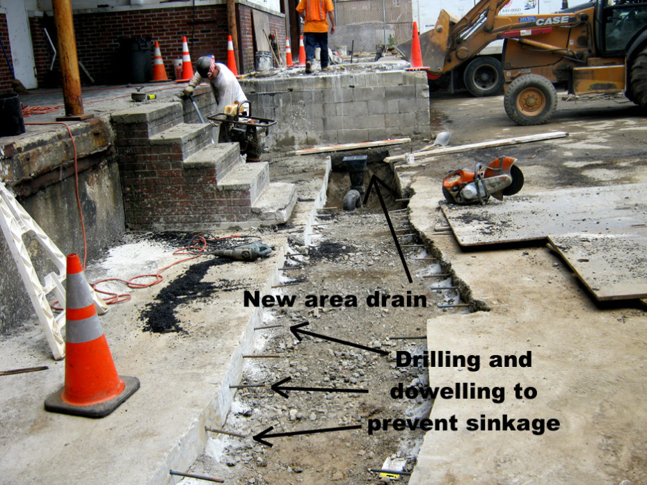 drilling and dowelling