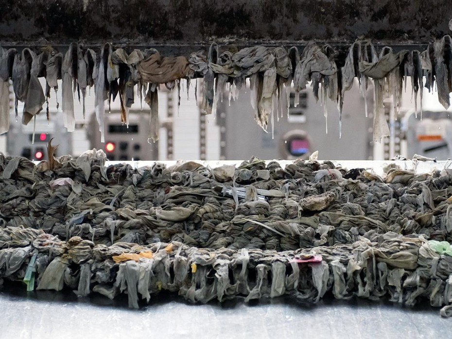 NYC Water Company Wipes Collected