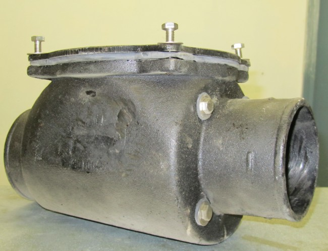 sewer check valve