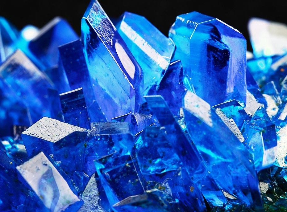 Sewer Line Backup Copper Sulfate Crystals