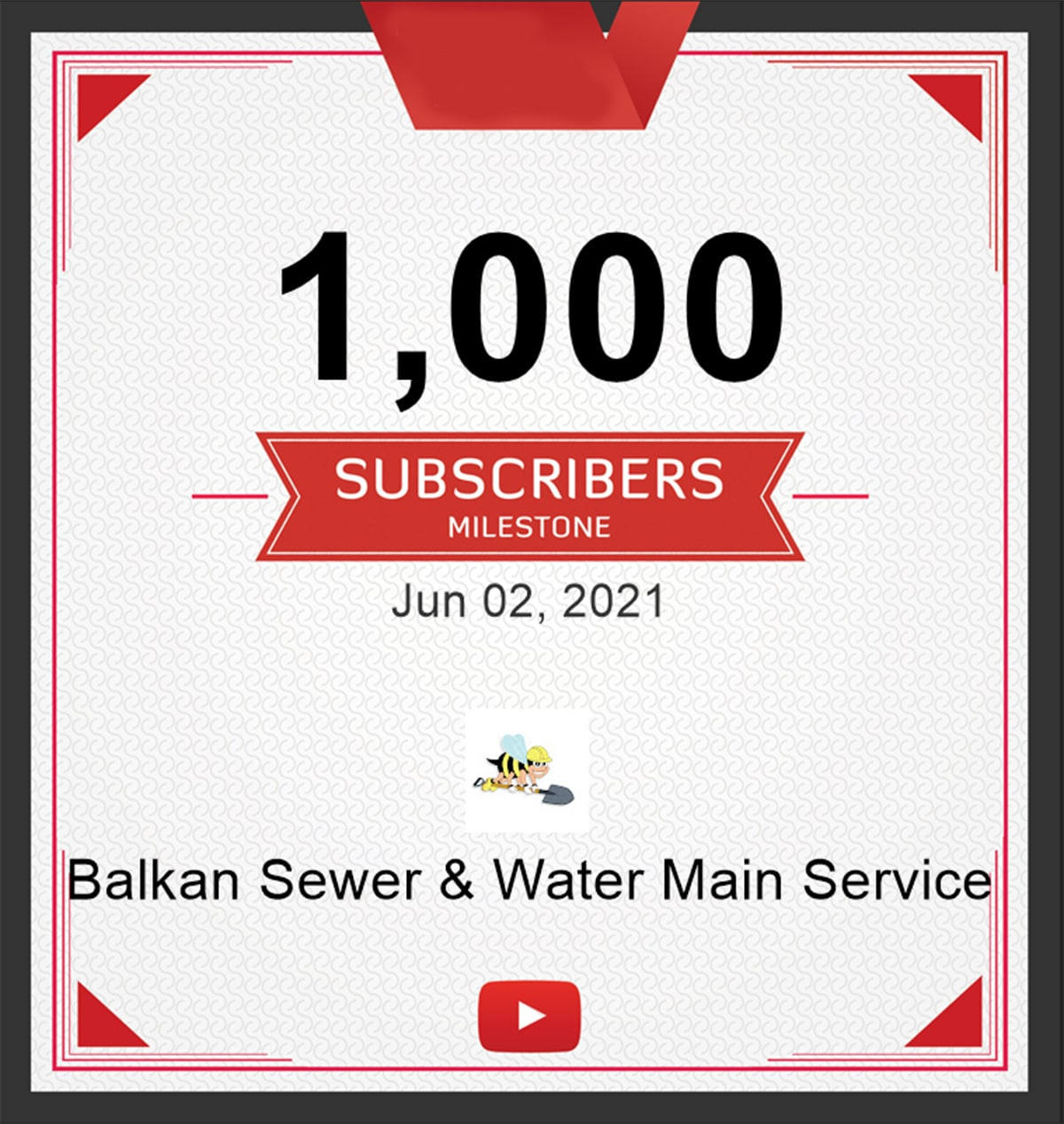 one-thousand-Youtube-subscribers