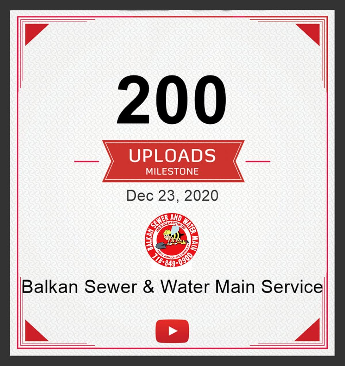 200 Youtube Uploads Milestone