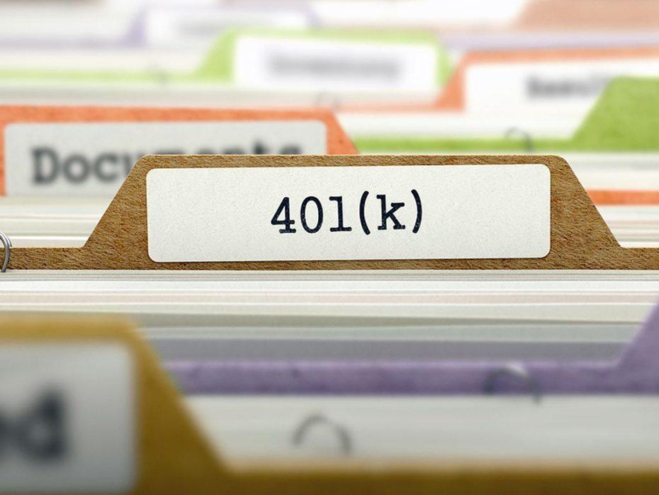 401K benefit