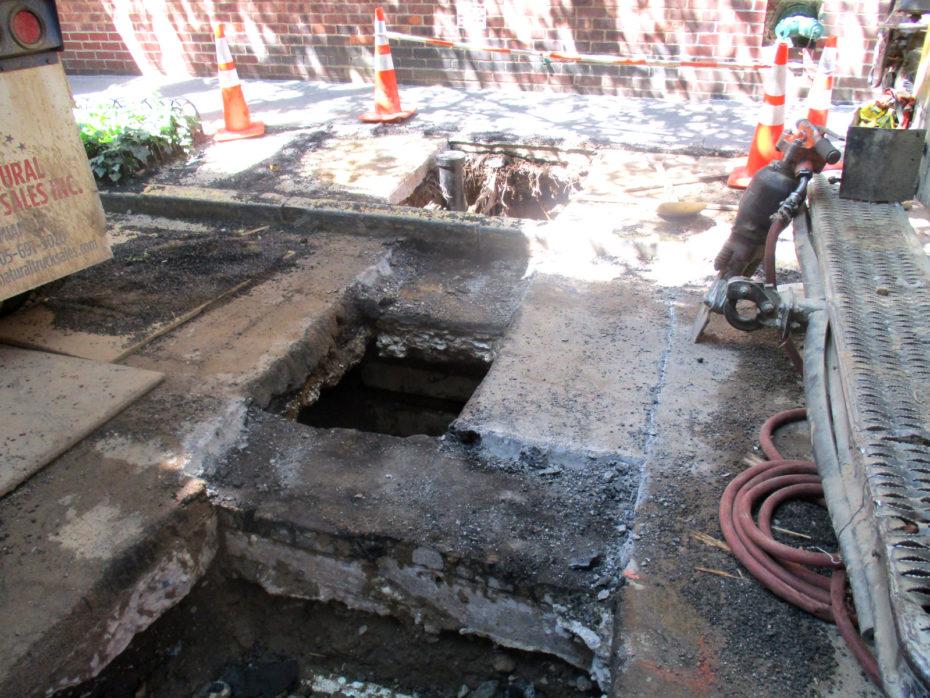 water main repair Manhattan