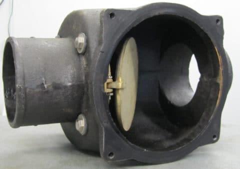 Backwater check valve