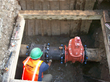 main line valve