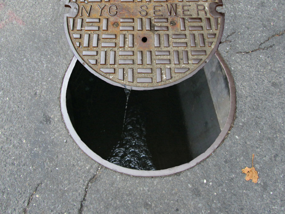 New York City sewers