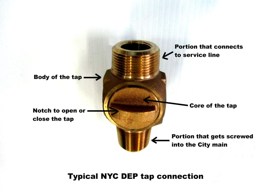 wet tap connection