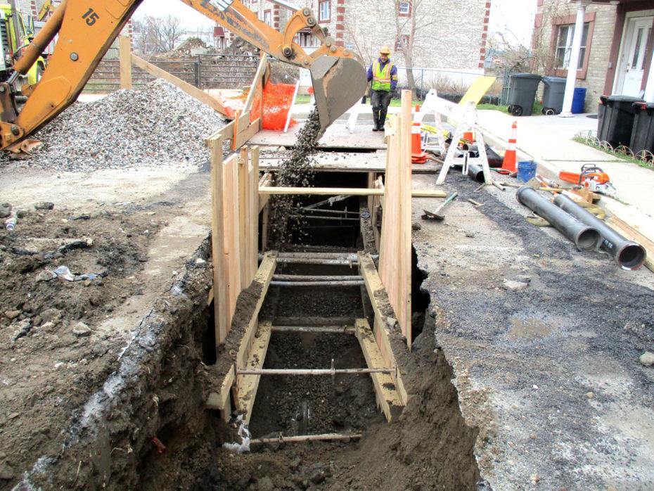 private sewer repair