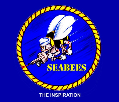 The Seabees WWII logo and inspration