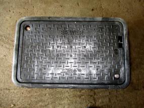 sewer pit
