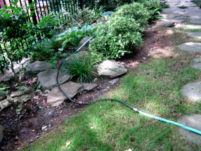 garden hose connection