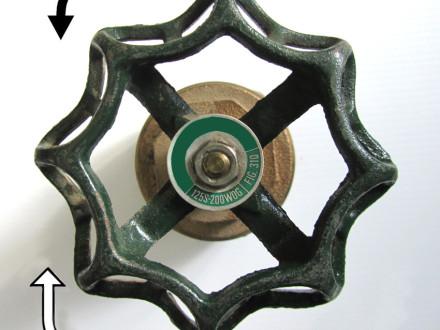 main control valve