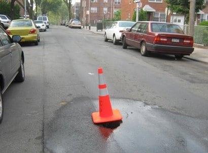 Leak In Roadway