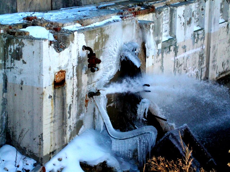 Water main replacement - Balkan job site