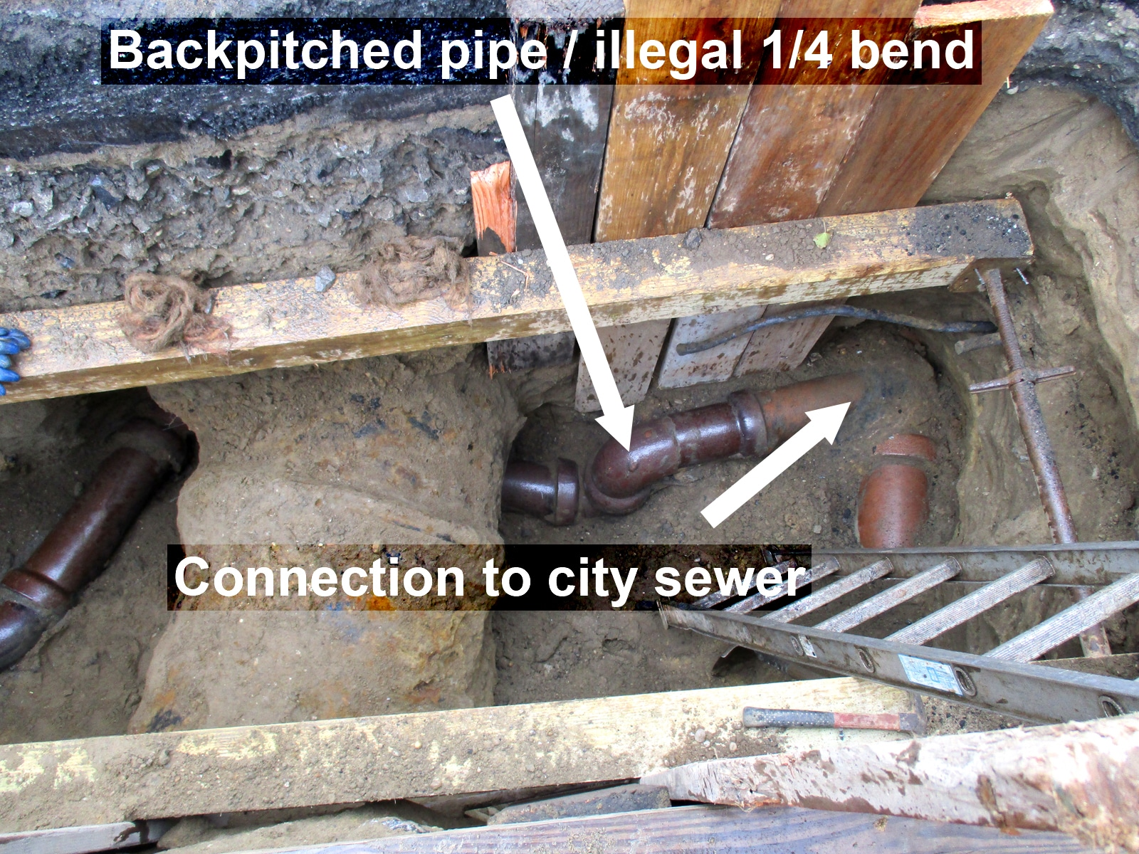 house sewer line