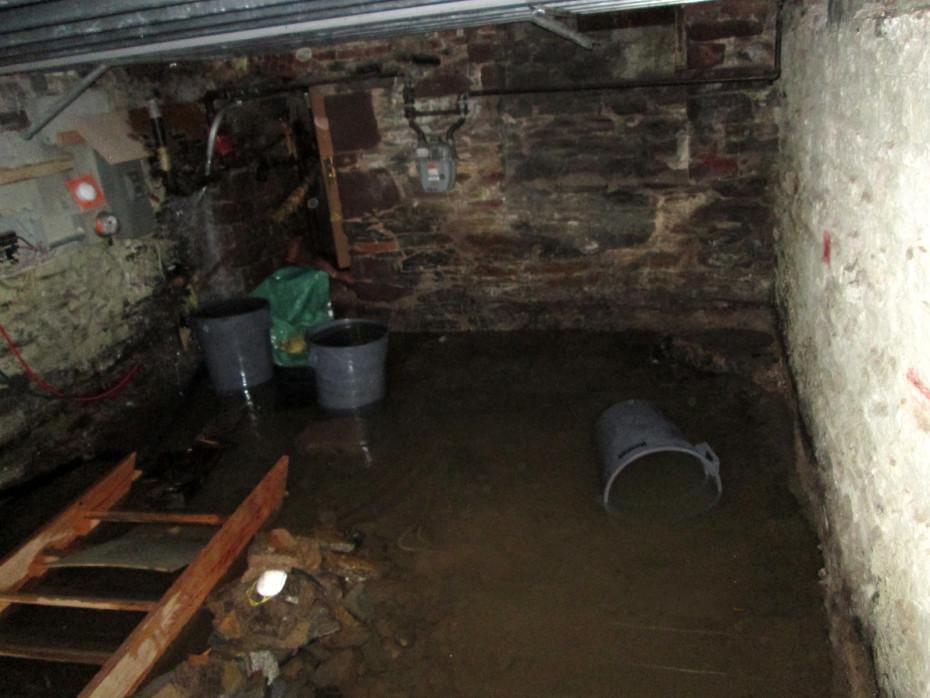 sewer backwater