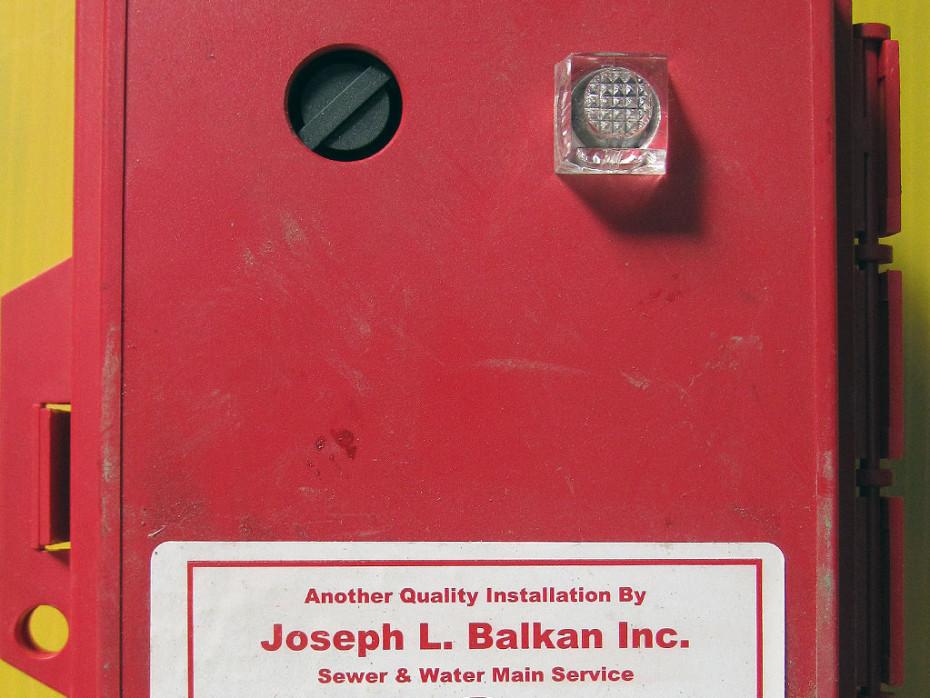 balkan plumbing sewer alarm box