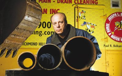 Crain's New York Business and Balkan Sewer And Water Main Talk Used Cooking Oil Blockages
