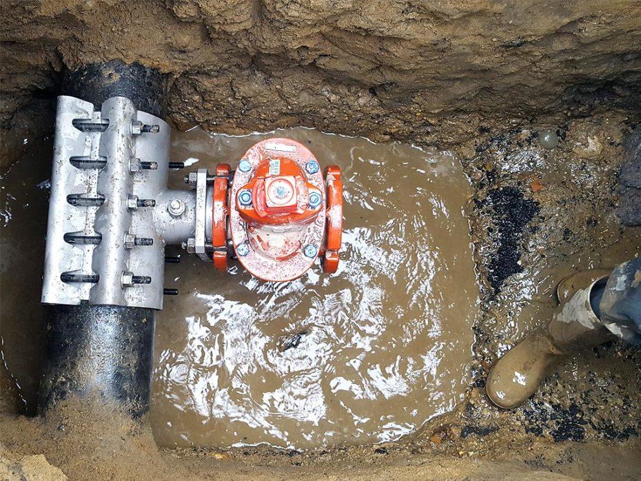 Water Main Leak Repair