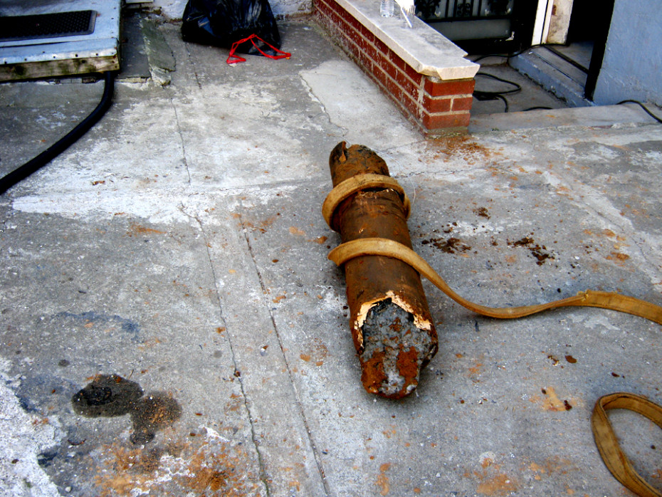 Brooklyn sewer line replacement