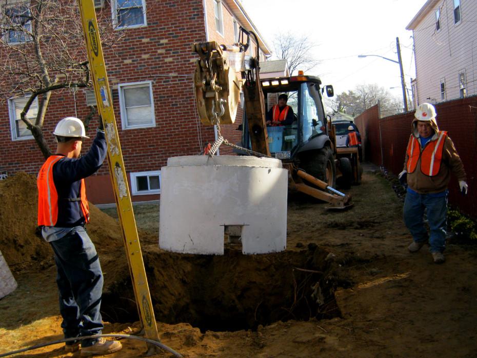 precast manhole