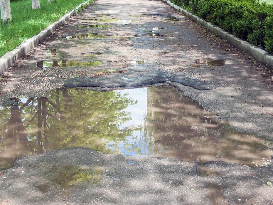 Detecting Water Main Leak Under Driveway