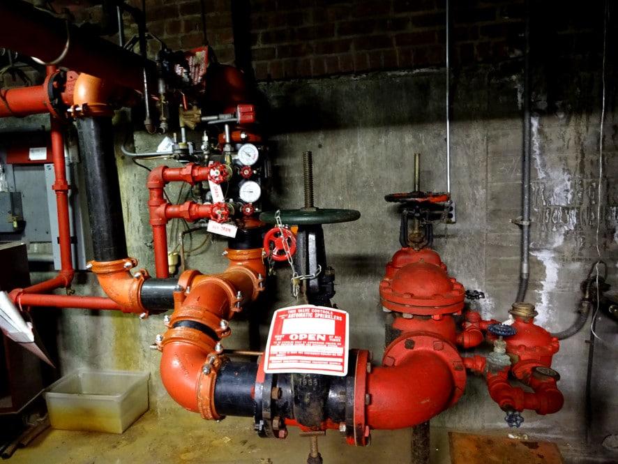 fire sprinkler system