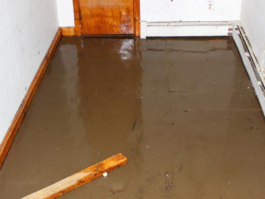 Flood Basement Broken Water Main