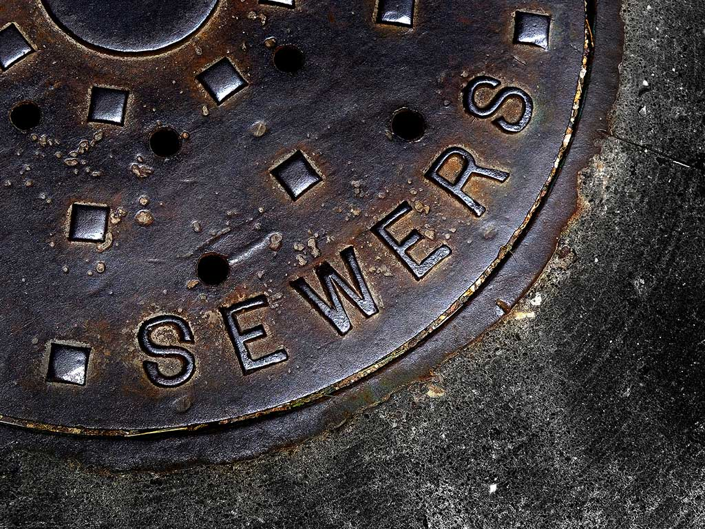 Force Main Sewer, Manhole