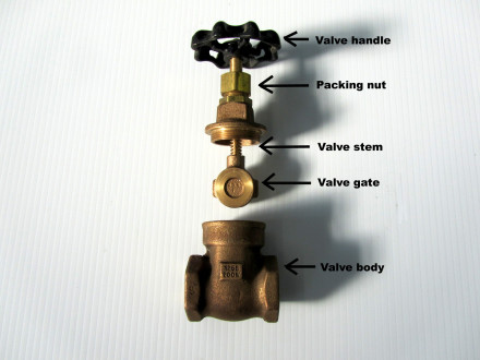 main water valve replacement