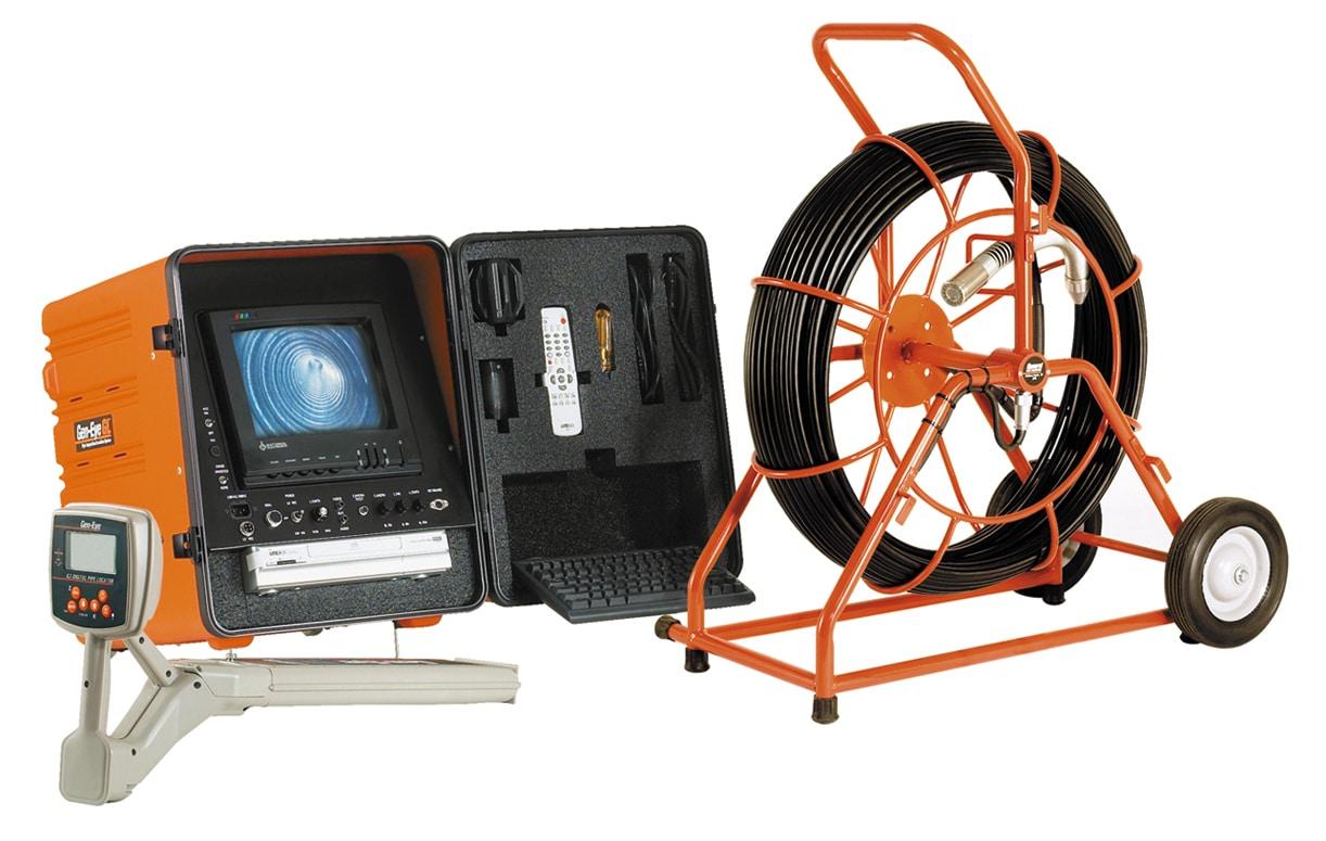 HD sewer video camera