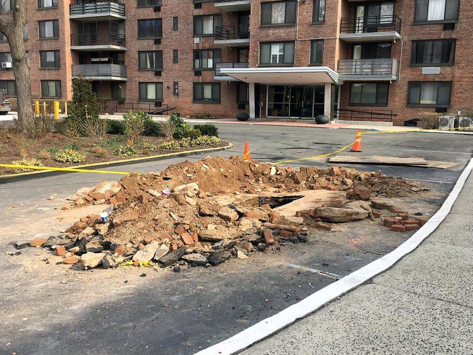 Harlem Water Main Repair Excavation