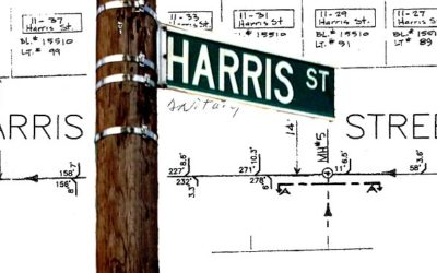 Harris Street Water Main and Sewer Work Requires DEP Records