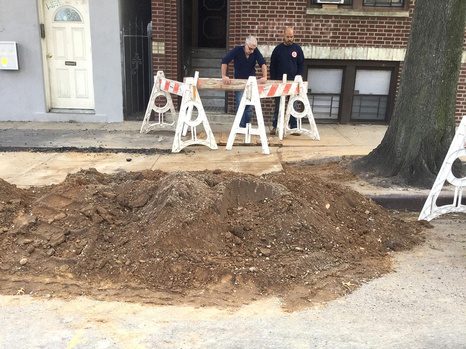 emergency sewer pipe repair