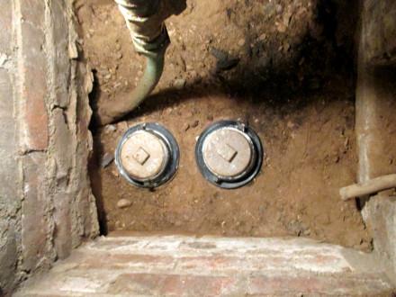 double vent trap