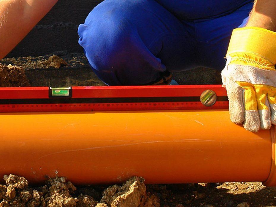 drain pipe slope