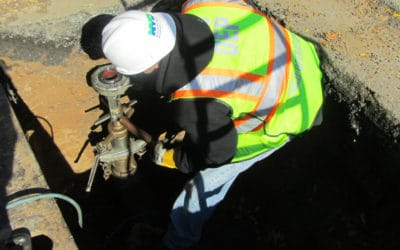 What Is A Wet Tap Connection For A Water Main Service Line?