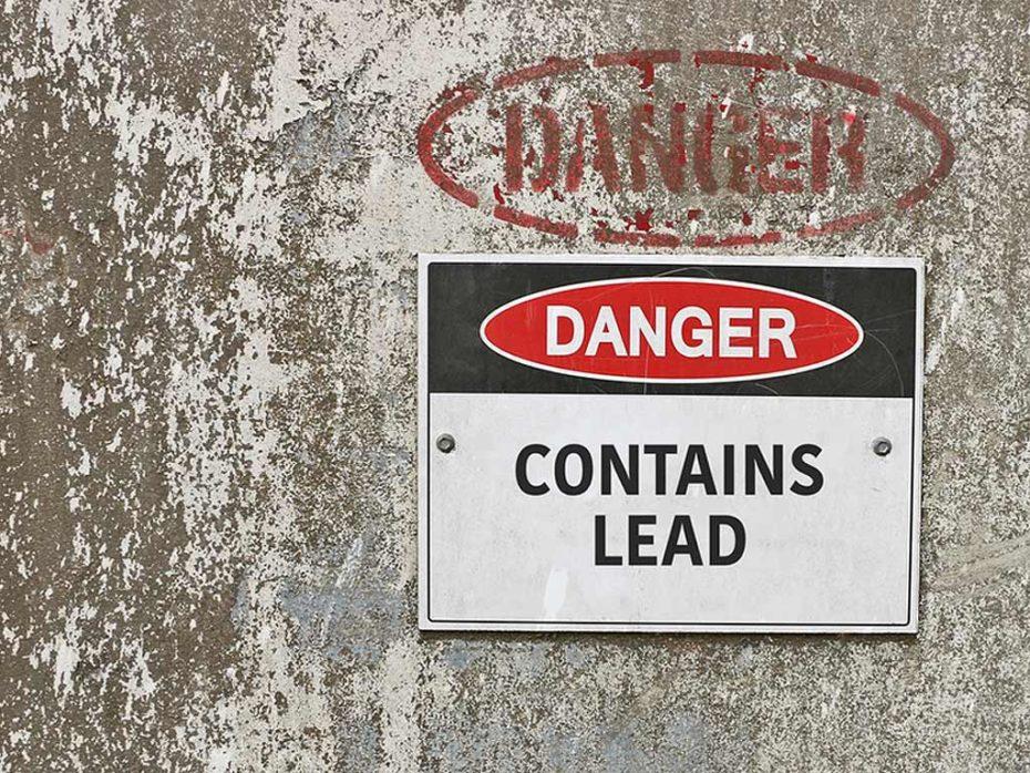 Lead Water Service Line Danger
