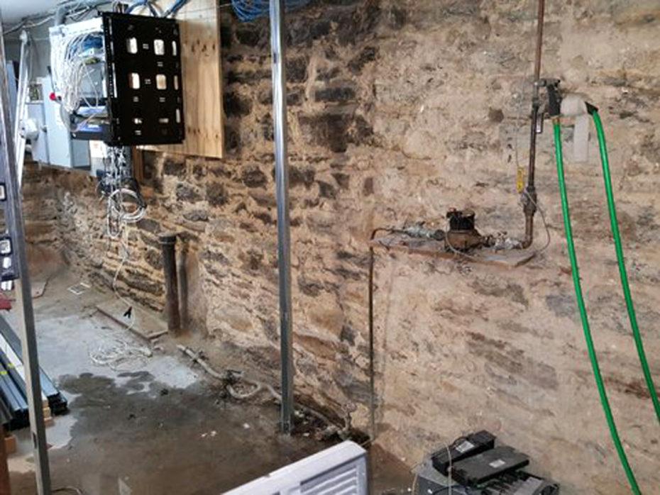 water line leaks