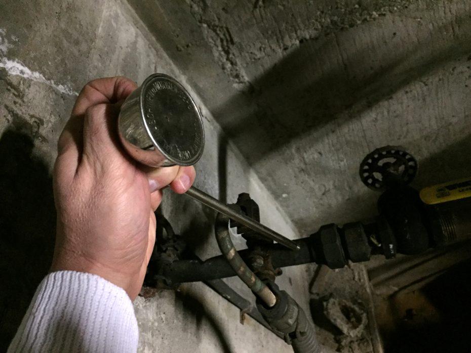 underground water leak detector