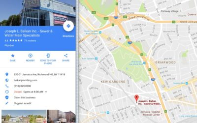 New York Plumber Reaches Record 5,000 Google Places Page and Photo Views