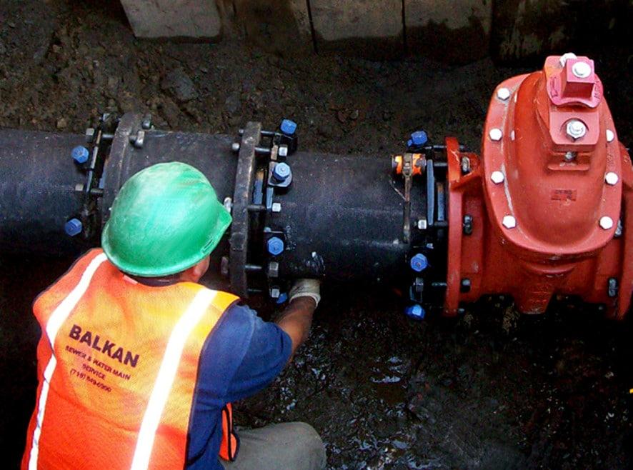 main line water work