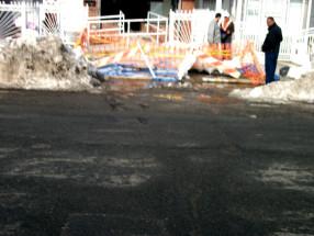 leak in street