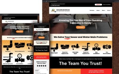 Balkan's New Sewer And Water Main Mobile Centric Plumbing Website – What You Need to Know on Any Platform