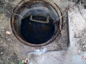 sewer blockage